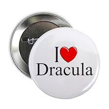 """I Love Dracula"" 2.25"" Button"