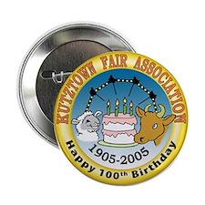 Kutztown Fair 100th Birthday Button