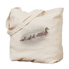 Mallard Family Tote Bag
