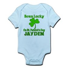 Personalized for Jayden Born Lucky!