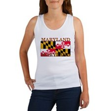 Maryland State Flag Women's Tank Top