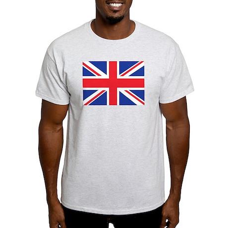 Union Jack British Flag Light T-Shirt