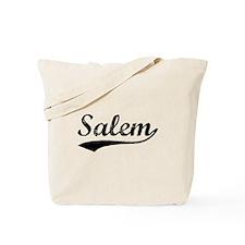 Vintage Salem (Black) Tote Bag