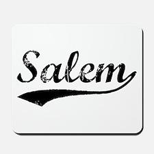 Vintage Salem (Black) Mousepad