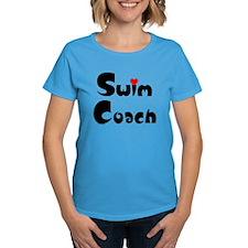 Swim Coach Heart Tee