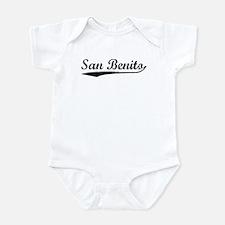 Vintage San Benito (Black) Infant Bodysuit
