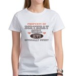 Property Of 16th Birthday Girl Women's T-Shirt