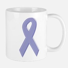 Lavender Awareness Ribbon Mug