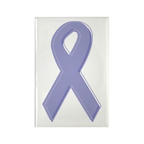 Lavender Awareness Ribbon Rectangle Magnet (10 pac