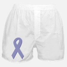 Lavender Awareness Ribbon Boxer Shorts