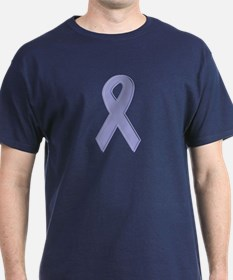 Lavender Awareness Ribbon T-Shirt