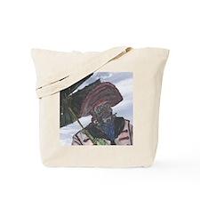 Old Captain & Parasol Tote Bag