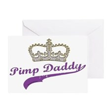 Pimp Daddy Greeting Card