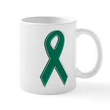Green Awareness Ribbon Mug