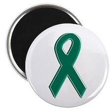 Green Awareness Ribbon Magnet