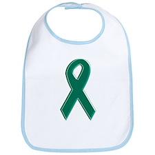 Green Awareness Ribbon Bib