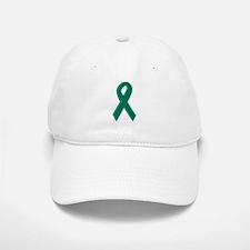 Green Awareness Ribbon Baseball Baseball Cap