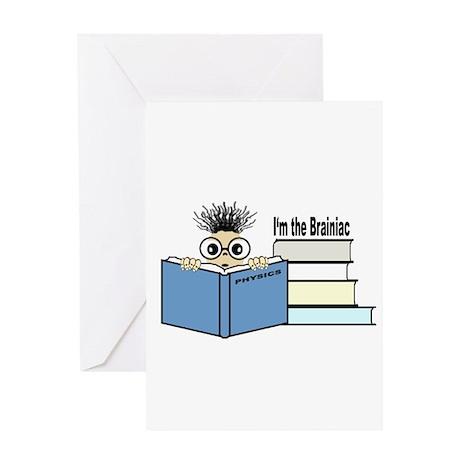 The Brainiac Greeting Card