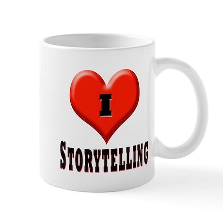 I love storytelling Mug