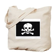 Jolly Roger Pirate Flag Tote Bag