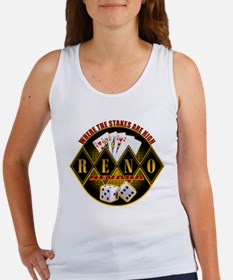 Where The Stakes Are High - R Women's Tank Top