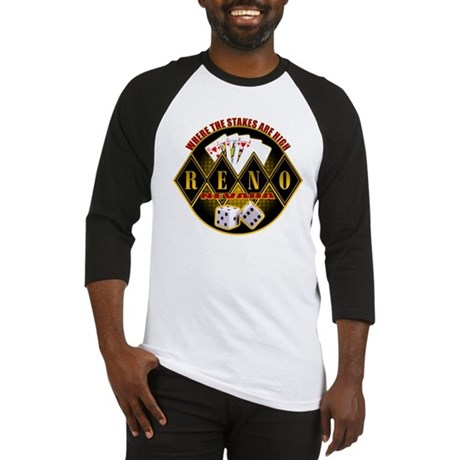 Where The Stakes Are High - R Baseball Jersey