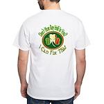 Celtic Harp White T-Shirt