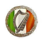 """Celtic Harp 3.5"""" Button"""