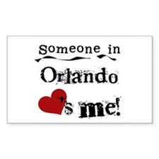 Orlando Loves Me Rectangle Decal