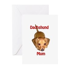 Doxies Mom Greeting Cards (Pk of 20)