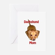 Doxies Mom Greeting Cards (Pk of 10)