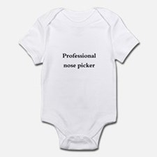 Baby- Pro Nose Picker Infant Bodysuit