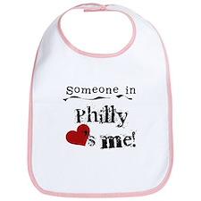 Philly Loves Me Bib