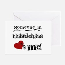 Philadelphia Loves Me Greeting Card
