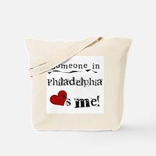 Philadelphia Loves Me Tote Bag