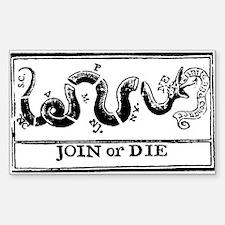 join or die flag sticker