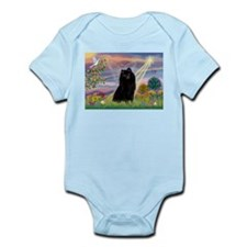Cloud Angel & Schipperke Infant Bodysuit