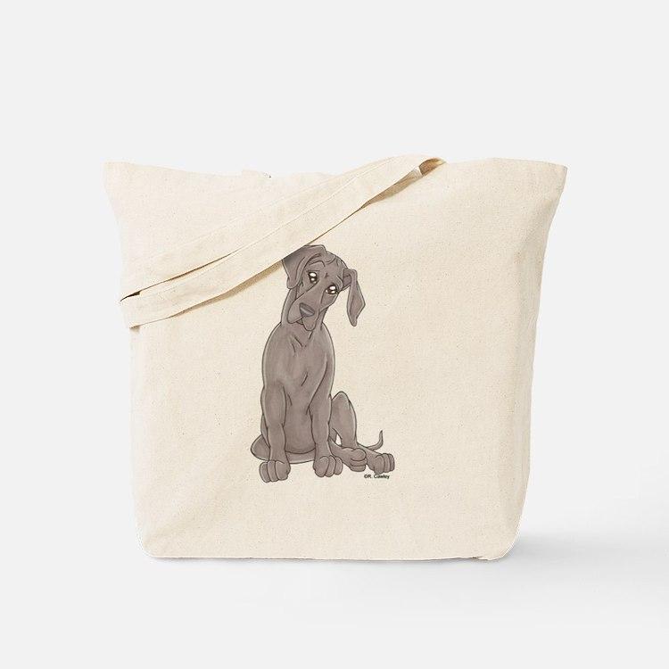 NBlu Pup Tilt Tote Bag