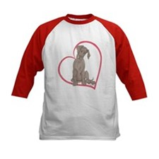 NBlu Pup Heartline Tee