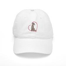 NBlu Pup Heartline Baseball Cap