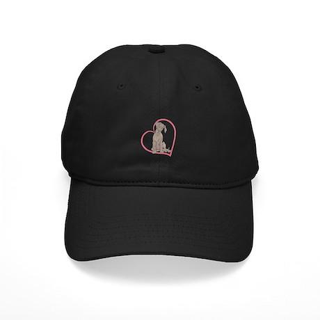 NBlu Pup Heartline Black Cap
