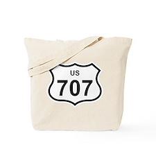 US 707 Tote Bag