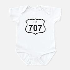 US 707 Infant Bodysuit