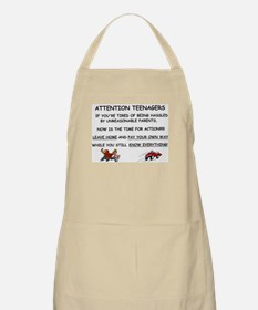 Cute Teenagers Apron