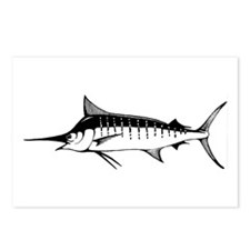 Blue Marlin Postcards (Package of 8)
