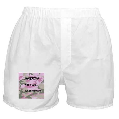 Nursing...an adventure Boxer Shorts