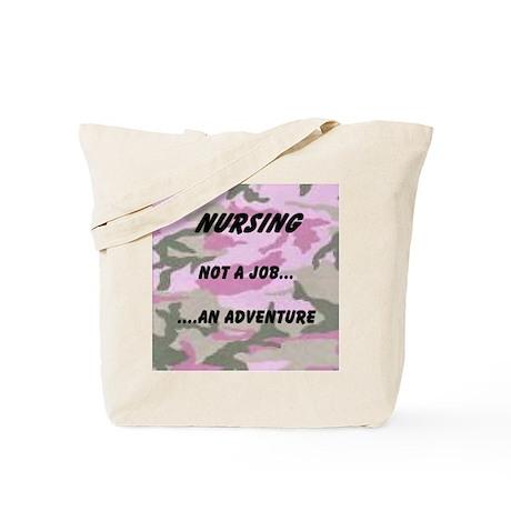 Nursing...an adventure Tote Bag