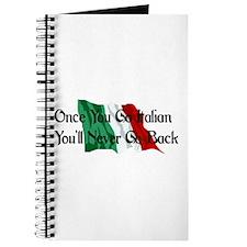 CUSTOM For Italian Stud Guy Journal