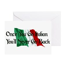 CUSTOM For Italian Stud Guy Greeting Card