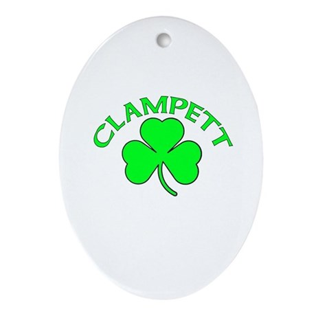 Clampett Oval Ornament